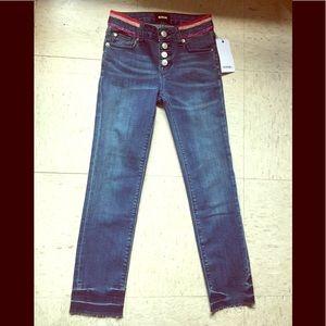 Rainbow Sparkle Stripe Jean.